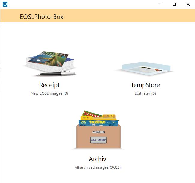 Overview EQSLPhoto-Box